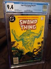 DC SAGA OF THE SWAMP THING #37 - 1ST APPEARANCE OF JOHN CONSTANTINE CGC 9.4 WP