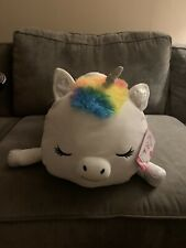 New Justice Jumbo Aria the Unicorn Squishmallow pillow