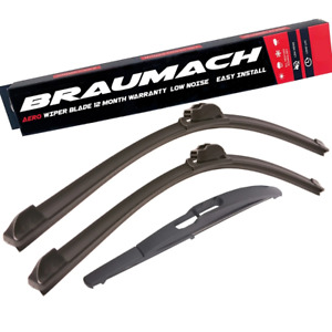 Front Rear Wiper Blades for Smart Fortwo 451 Coupe 1.0 2007-2018