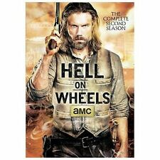 Hell on Wheels  The Complete Second Season DVD 2013  3 Disc Set New Sealed