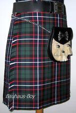 """Hecho a mano 6 yarda moderno HUNTER Caballeros kilt talla 38"""" - 40"""" Kilts Hecho en Escocia"""