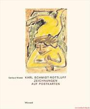 Fachbuch Karl Schmidt-Rottluff, Zeichnungen auf Postkarten, STATT 88 Euro, NEU