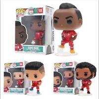 10cm Liverpool Football Star Salah/Mane/Firmino Action Figures