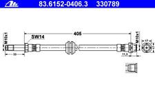 Bremsschlauch - ATE 83.6152-0406.3