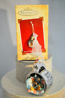 Hallmark: Baby's First Christmas - Baby Rabbit in Silver Cup Keepsake Ornament