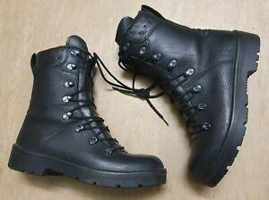 (SUPER GRADE) Genuine German Army Black Leather Para Paratrooper Combat Boots