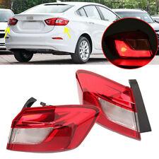 Paar Hinten Paar Beifahrer Außenrücklicht Lampe Fit für Chevrolet Cruze 16-18