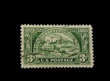 Vintage Stamp, UNITED STATES 3 CENT AMERICAN BANKERS ASSOCIATION, Used, 1950