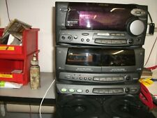 IMPIANTO STEREO KENWOOD RXD 500 COMPLETO DI CASSE video dimostrativo