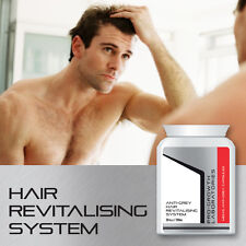 PRO-GROWTH MENS ANTI-GREY PILL STOP GREY HAIR 100% SAFE NATURAL PREVENT GREY