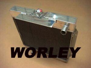 Aluminum radiator for FORD Falcon XA XB XC FAIRLANE ZF ZG 6 cyl 1972-1977 AT/MT