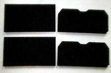 2x Set Schwammfilter Filter Filtermatte TKF 1350 7340 3500 Elektra Bregenz