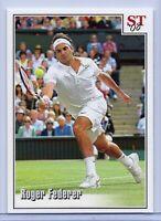 "ROGER FEDERER ""2008 WIMBLEDON VERSUS NADAL"" SPOTLIGHT TRIBUTE TENNIS CARD! RARE!"