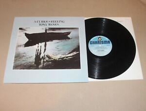 Tony Banks - A Curious Feeling, Vinyl LP (embossed sleeve) UK 1979 Ex-/Ex Prog