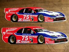 QTY 2 Steve Millen IMSA NISMO Nissan 300ZX TT Z32 Le Mans Stillen Decal Sticker