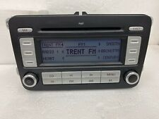 Vw Volkswagen Rcd300 Mp3 Radio  Head Unit Cd Mp3 Player + Code Transporter Golf