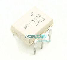 10PCS MOC3010 FSC OPTOISOLATOR 5.3KV TRIAC 6DIP NEW GOOD QUALITY