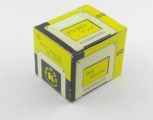 KINDERMANN DIA-Rähmchen 5x5 / 24x36 - Art. 1092 - 19 Stück Diarahmen