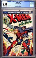 X-Men 91 CGC Graded 9.0 VF/NM Marvel Comics 1974