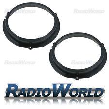 """Ford Fiesta 2008> Speaker Adaptor Rings Front / Rear Doors 6.5"""" 165mm"""