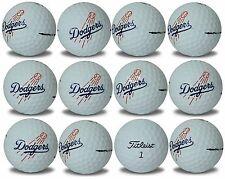 Los Angeles Dodgers Titleist ProV1 Refinished MLB Golf Balls 12 pack