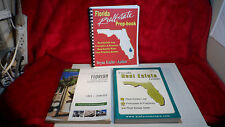 Florida Real Estate Exam Book Lot