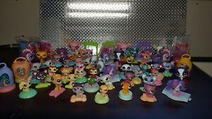 Littlest Pet Shop LPS McDonald's 59 piece Lot