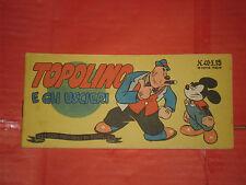 ALBI TASCABILI di TOPOLINO-STRISCIA N° 40 -b -prima 1° originale 1949 e uscieri
