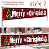 Merry Christmas Outdoor Banner Hanging Sign Home Xmas Decoration Door Ornaments