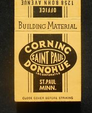 1950s Corning Donohue Concrete Building Material Masonry Saint Paul MN Ramsey Co