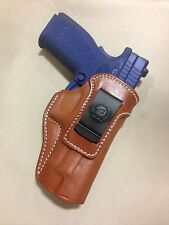 """Leather IWB Holster for Springfield XDM 4.5""""/5"""", RUGER AMERICAN   - (# 5341 BRN)"""