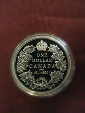 1911-2001 Proof Silver Dollar Canada. Gorgeous!