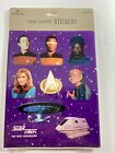 Vintage 1992 Hallmark Star Trek The Next Generation Stickers 4 Sheets Total