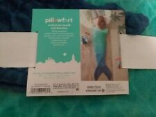 "Ombre Mermaid Tail Blanket Blue & Green 66l x 50""W NWT  Pillowfort B0847J64BK"