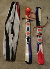"""New listing Salamon Snowblade Skis 38"""" With Carrying Bag"""