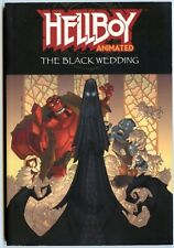 Hellboy Animated 1 The Black Wedding Graphic Novel First printing