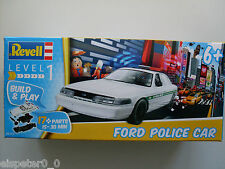 Ford Policía Car Revell auto modelo equipo art. 06112 Build & Play