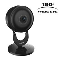 2 pack D-Link DCS-2630L Full HD 180-Degree Wi-Fi Camera - Black