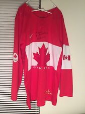 TEAM CANADA 2014 SOCHI OLYMPICS RED NIKE HOCKEY JERSEY Autographed Size Large