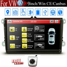 For VW Jetta Golf MK5 Passat 9 Inch Car Radio Stereo GPS Navi Canbus Player