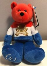 LIMITED TREASURES NETHERLANDS EURO COIN PLUSH BEAR NEW