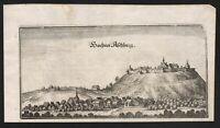 Hohenasperg Asperg LK Ludwigsburg Baden-Württemberg Kupferstich Merian 1650