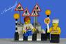 LEGO city car road signs zebra crossing Belisha beacons lollipop person boy