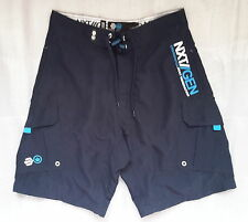 MENS NAVY CROSSHATCH NEXT GENERATION LINED SHORTS - SIZE SMALL