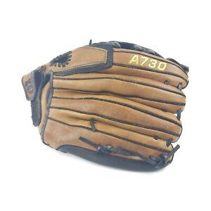 "Wilson A730 13"" A0732 13 Soft Ball Leather Glove Left Hand Thrower Lefty"