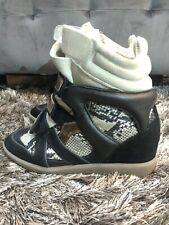 ISABEL MARANT WEDGE SNEAKERS SIZE 38 (US 8)