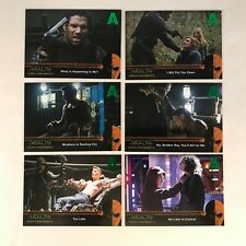 ARROW DC TV SERIES: SEASON 2 Complete MIRAKURU Chase Card Set (U1-U6) GREEN FOIL