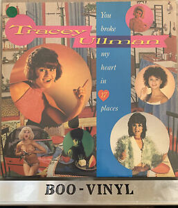 TRACEY ULLMAN ~ You Broke My Heart In 17 Places ~ VINYL LP  EX / VG+