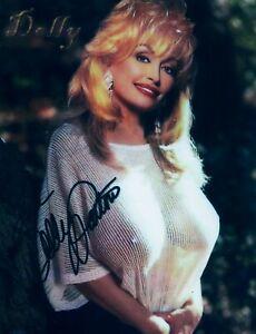 Dolly Parton Autographed 8x10 Photo (***Reprint***)