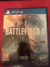 Battlefield 1 (Sony PlayStation 4, 2016)